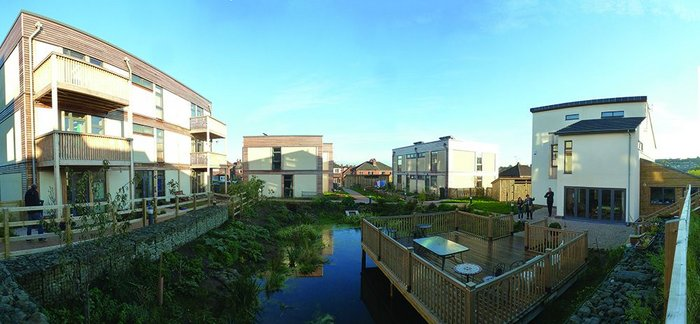At LILAC in Leeds the co-housing group acted as client appointing both contractors and a design team.