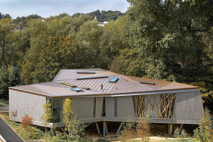 Maggie's Centre Oxford – Wilkinson Eyre Architects. Click on the image