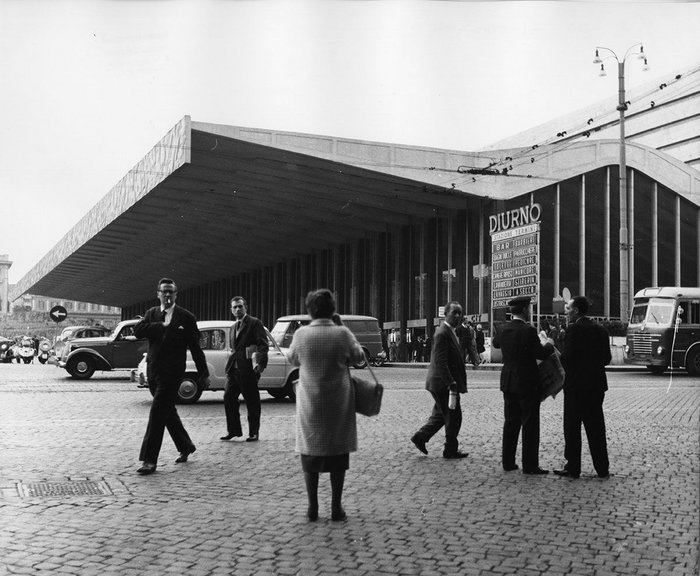 Termini railway station, 1961