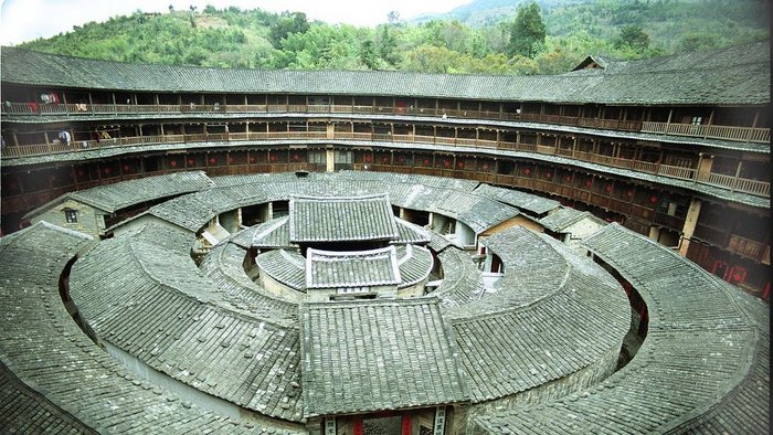 Hakka walled village, Zhenchenglou.