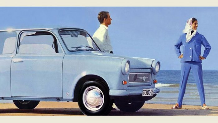 Advertising brochure Trabant 601 Universal, (1965).