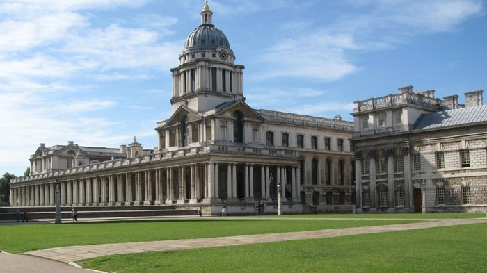 Royal Hospital for Seamen, Greenwich (now the Old Royal Naval College), Sir Christopher Wren, 1696-1712