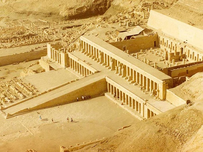 Mortuary Temple of Queen Hatshepsut, Senenmut, Western Thebes, 1490-1460 BC