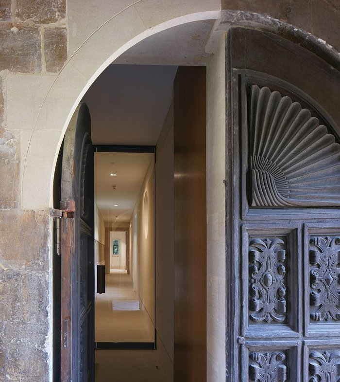 New entrance to library runs along rediscovered 'Otranto Passage'