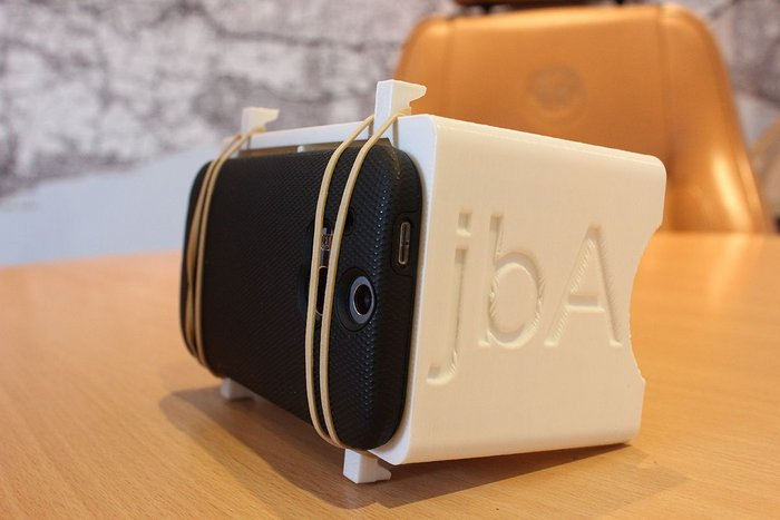 Google's Cardboard Glasses, developed for 3D viewing with smartphones by jbA.