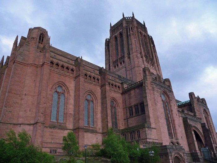 Giles Gilbert Scott's Liverpool Cathedral. Bennett's George Cannon also wins a big competition aged 23.