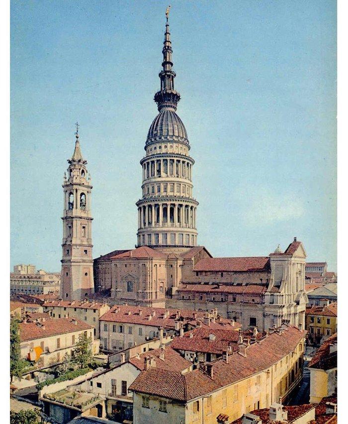 Basilica of San Gaudenzio, Novara; Alessandro Antonelli, 1841-1887