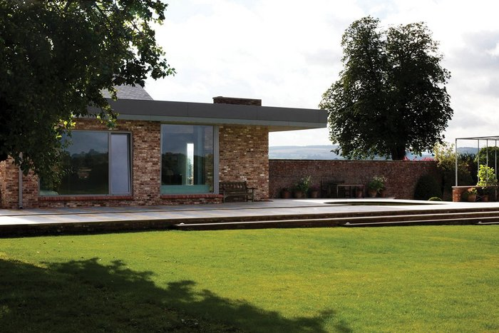 Cunelands House, Malton, Tom Brooksbank Architect for private client.