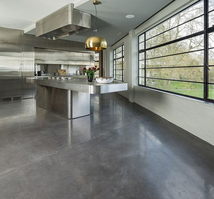 polished concrete opulence products flooring