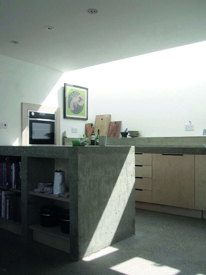 Walber House kitchen – the result of vague conversations and concrete worktops