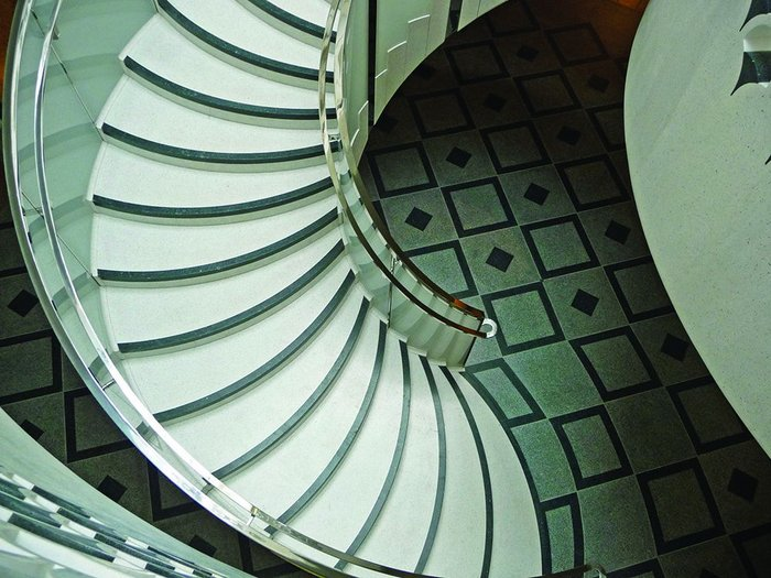 Stepping back in time Caruso St John's centrepiece spiral stair revives Art Deco at its Tate Britain refurbishment.