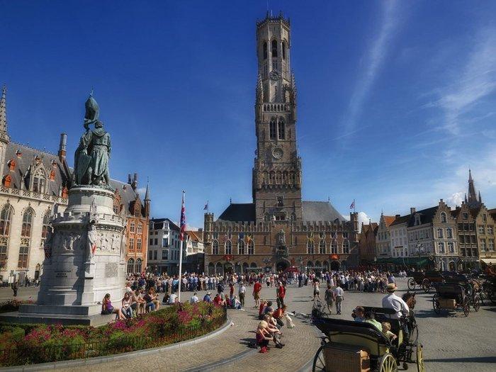 Belfry of Bruges, Belgium, 1240-1487