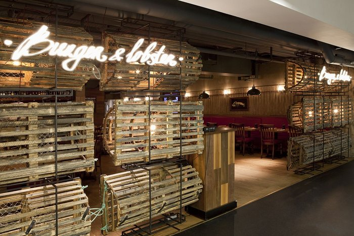 Burger & Lobster, Harvey Nichols, designLSM.