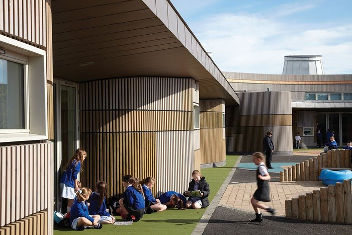 'The architects really got inside our heads,' says Jane Loomes, head teacher of Jesmond Gardens Primary School, County Durham, by ADP for Hartlepool Borough Council. 'The result is improved attendance, improved behaviour and we are now oversubscribed.'