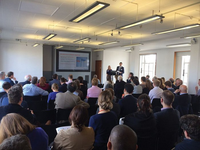 The first PiP seminar attracted a packed audience.