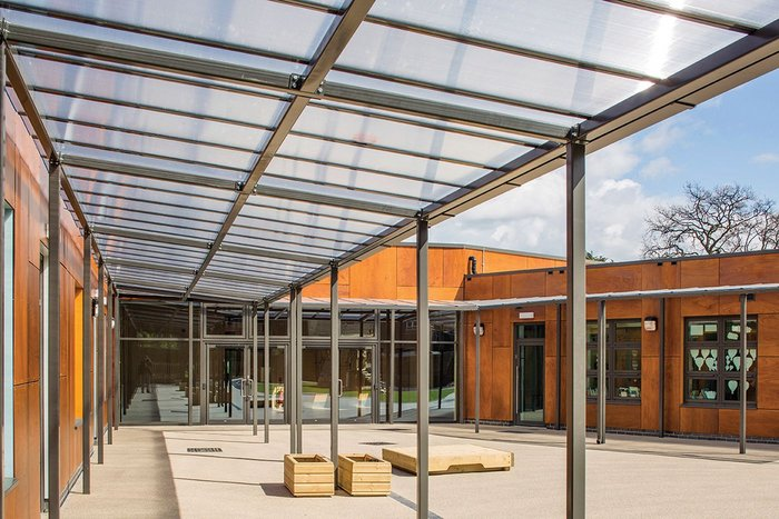Surface to Air's George Spicer Primary School for Enfield Council, fabricated using off-site construction.