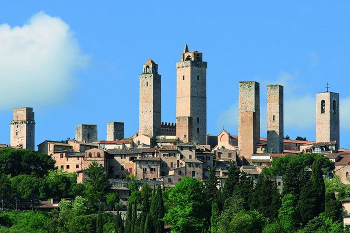The towers of San Gimignano, Italy, may signify success, but what about long-term sustainability?
