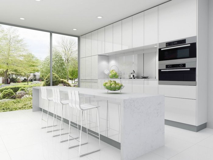 CRL Quartz from CRL Stone is a beautiful engineered quartz stone, which is scratch, heat and stain resistant.