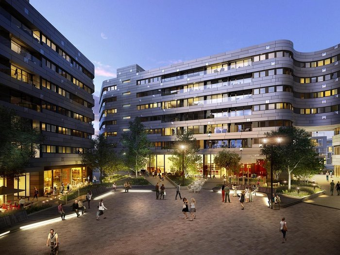 Greenwich Square, which Chapman BSDP is consultant on, has 645 homes. How would it be affected by the Home Quality Mark?