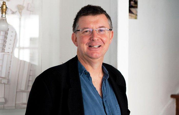 Peter Barber in his King's Cross studio.