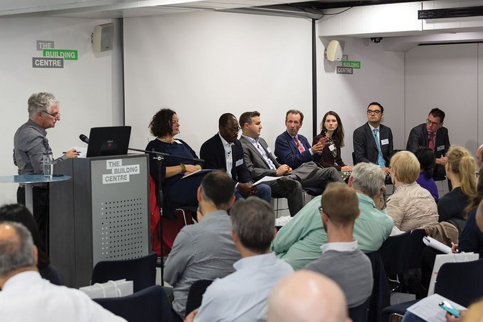 The panel  for the conference  Sustainability – where are we now?
