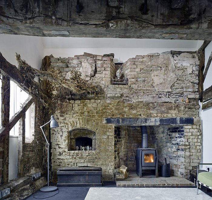 Combining old and new at Croft Lodge Studio, Leominster, designed by Kate Darby Architects and David Connor Design