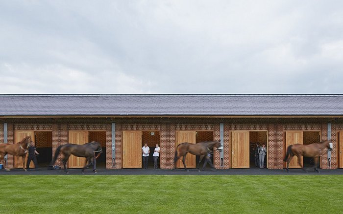 Phelan Architects' new northern end redevelopment for York Racecourse
