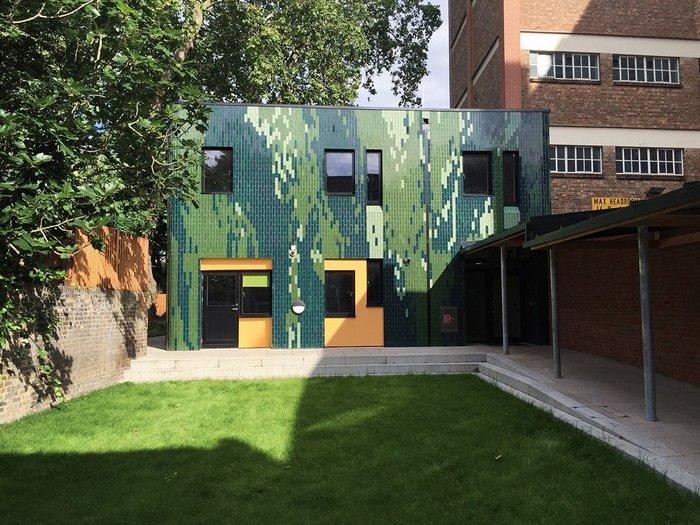 41 Crimscott Street Garden Hostel, west elevation.