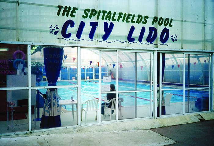 A public swimming pool remained at Spitalfields market for four years before the site was renovated.