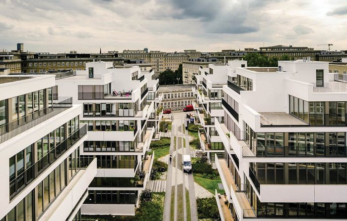 Custom build at scale, Baugruppen Liebigstrasse Berlin by Zanderroth Architekten.
