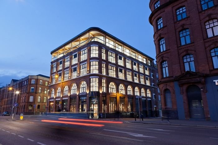 The Weaving Works, Belfast.