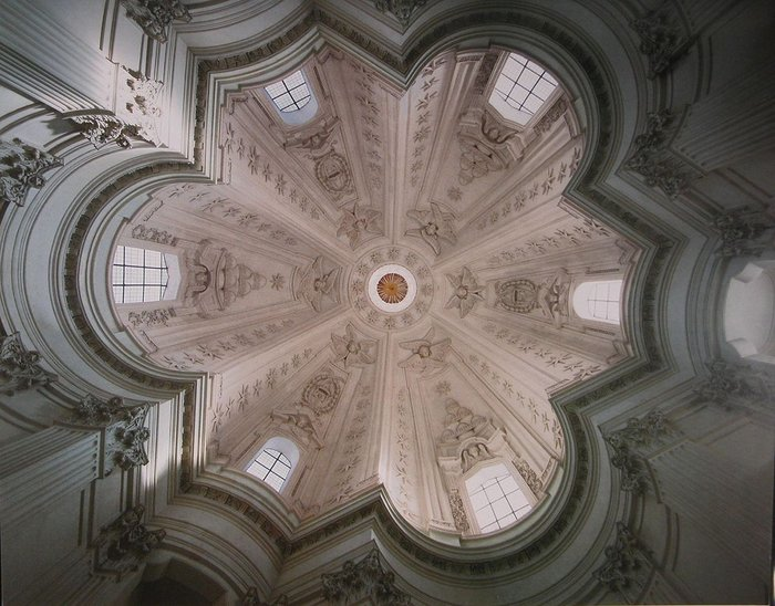 St Ivo alla Sapienza, Rome; Borromini, 1642-60