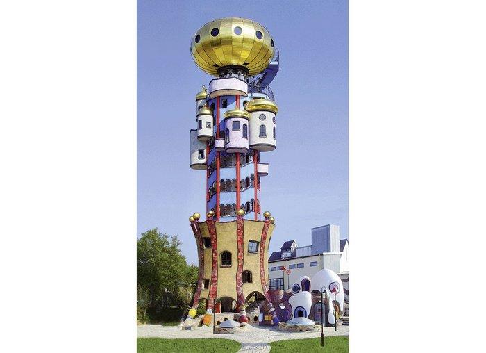 Kuchlbauer Tower, Abensberg, Germany, Friedensreich Hundertwasser, 2000-2010