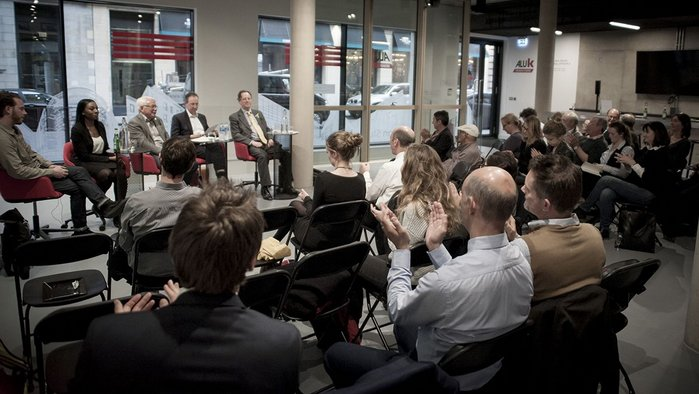 The AluK Social Infrastructure panel debate in May 2017.