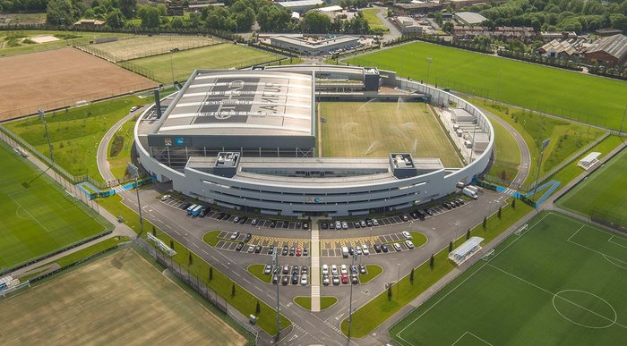 City Football Academy by Rafael Viñoly Architects.