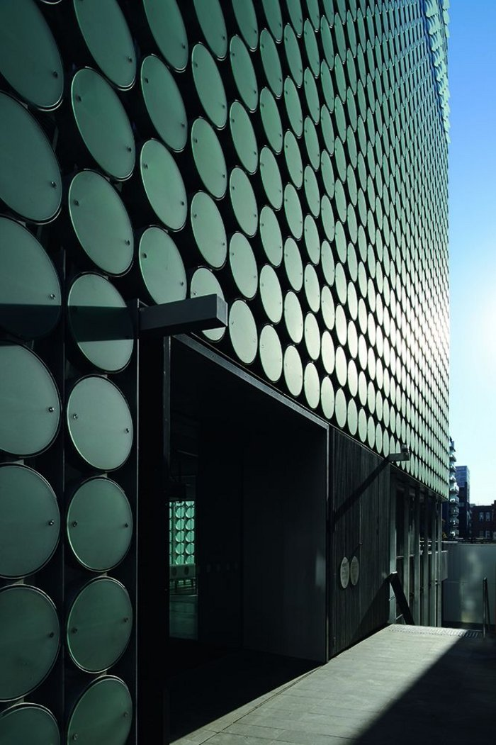 Godsell's RMIT facade is inspired by Nouvel's Arab Institute, but with its up-to-date BMS system it avoids the problems that plagued Nouvel's design.