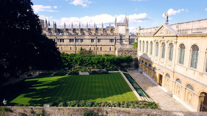 The Queen's College, Oxford - New Library, Oxford