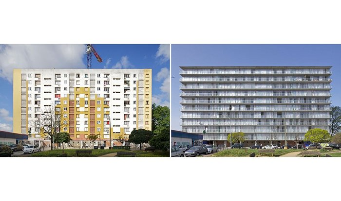Grand Parc Bordeaux by Lacaton and Vassal which reworks what was already there.