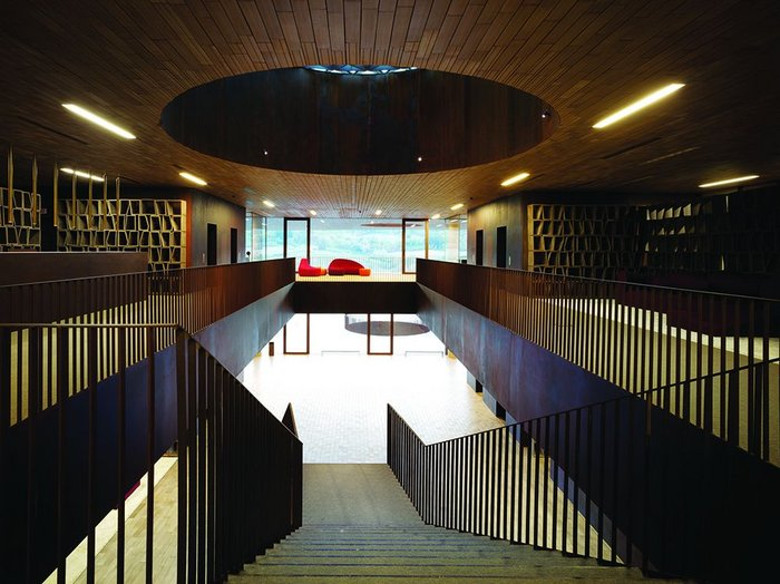 The winery is also an administration HQ for Antinori.