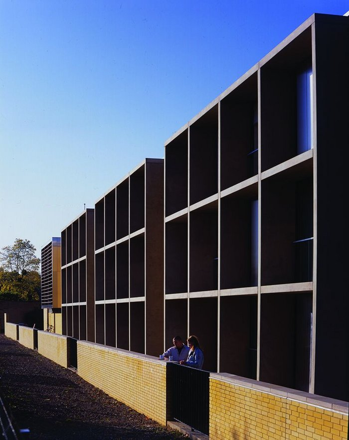 Phase 2 of student residences at St Catherine's College, Oxford, 2005.