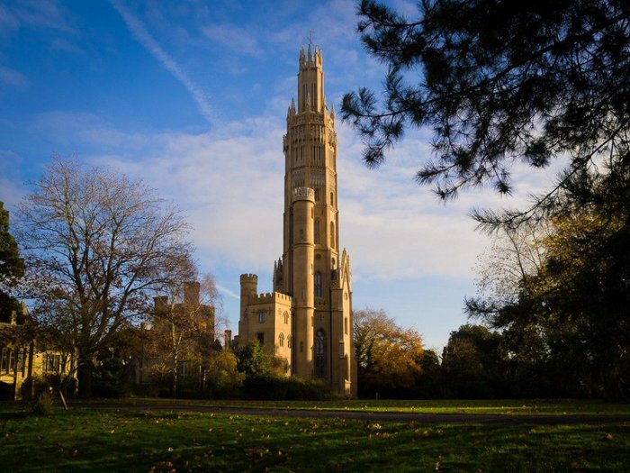Hadlow Tower, Kent; George Ledwell Taylor, 1832