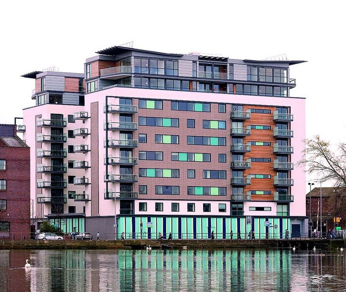 Witham Wharf after BDP's residential conversion.