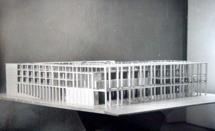 Competition for the Palazzo dei Congressi, Pietro Lingeri with Cesare Cattaneo & Giuseppe Terragni, 1937-8