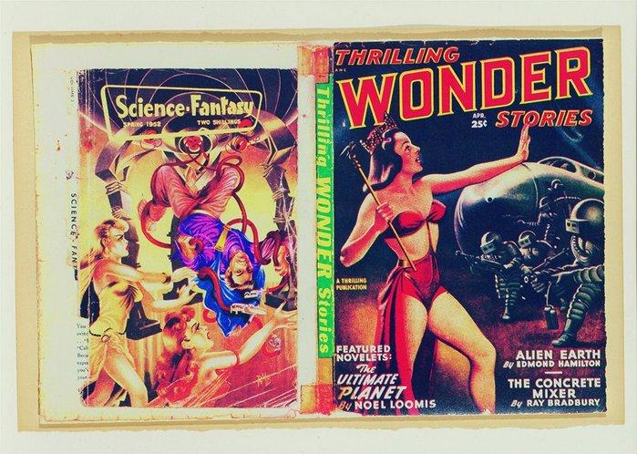 Eduardo Paolozzi's magazine covers.
