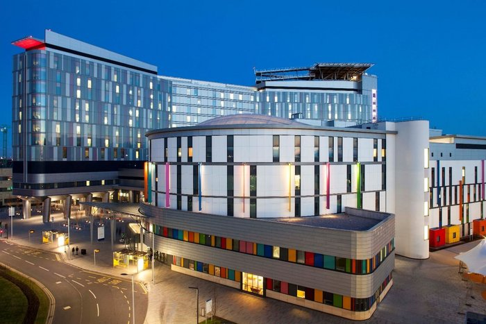 Kingspan Kooltherm K15 Rainscreen Board has been installed on the new Queen Elizabeth University Hospital in Glasgow, helping it to achieve a BREEAM Excellent rating.