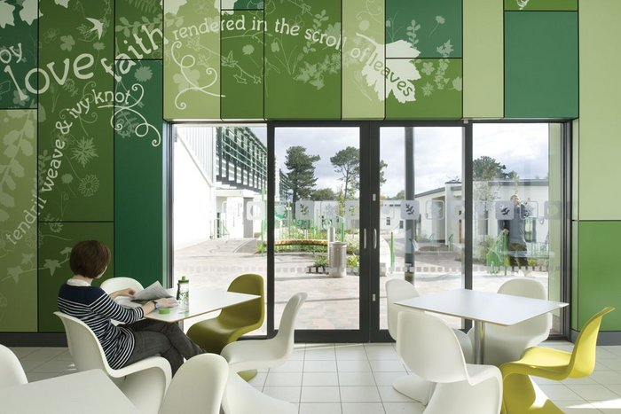Medical Architecture's Ferndene Child and Adolescent Centre: a regional forensic mental health and learning disabilities unit newbuild hospital delivered through NHS Procure 21 design/build framework.