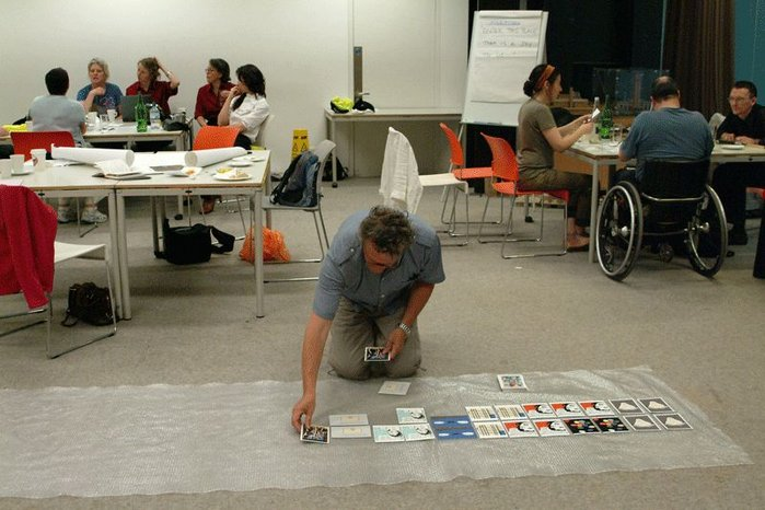 Work in progress as part of Architecture InsideOut (AIO) event at Tate Modern.