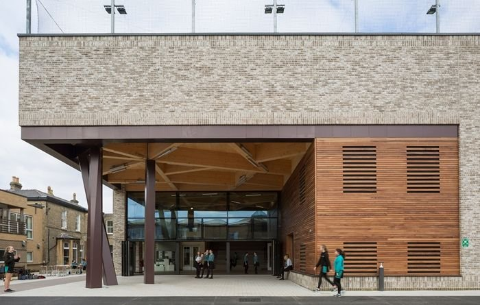Stephen Perse Foundation New Sports and Learning Building, Cambridge.