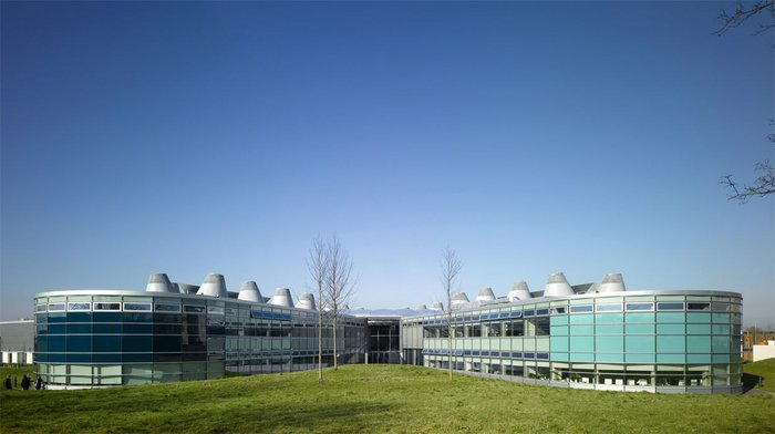 Handed over using the principles of Soft Landings, Wilkinson Eyre's John Madejski Academy.