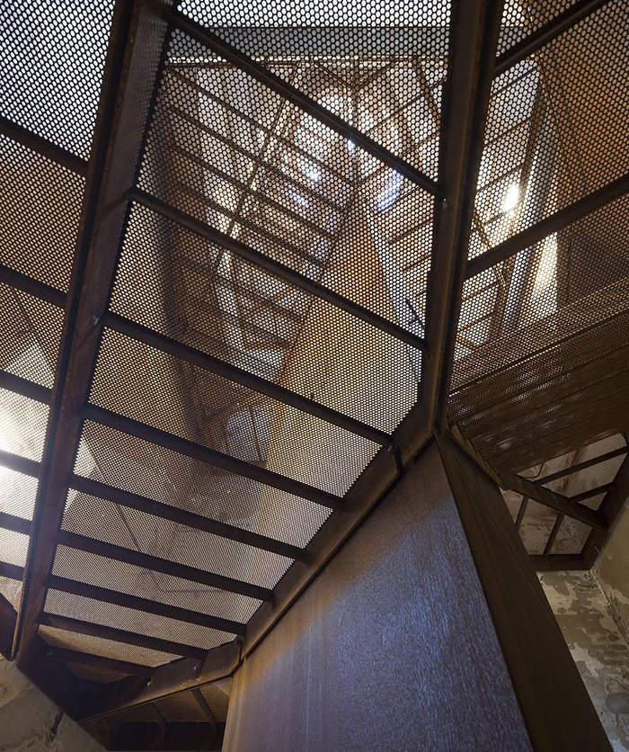 Rubjerg Knude Lighthouse - transparent stair